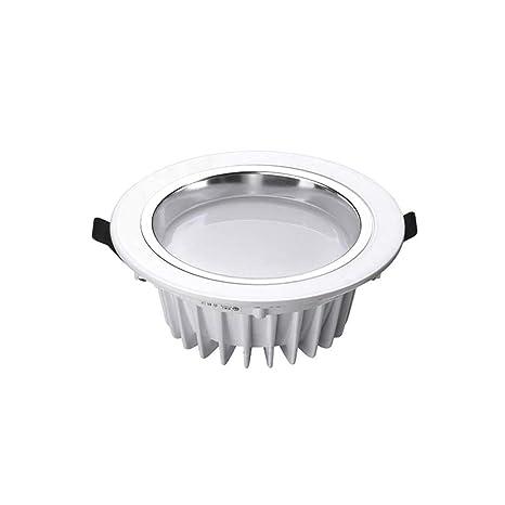 50pcs 3 años de garantía 5 W LED abajo luz regulable LED Downlight Foco de techo