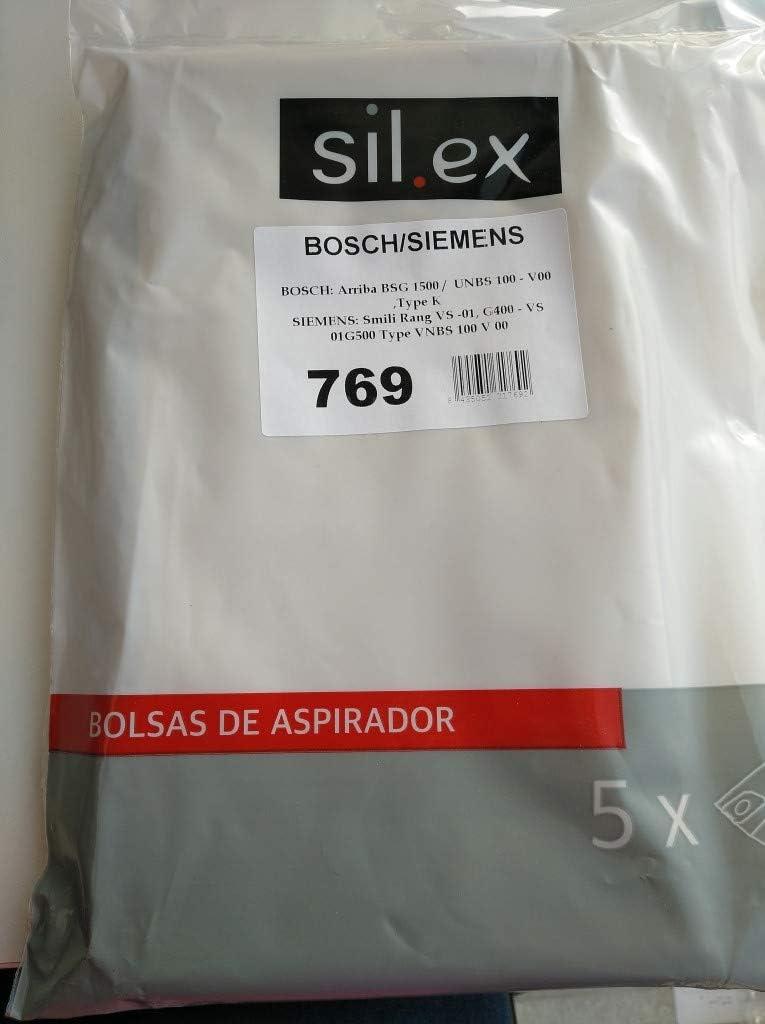 BOSCH - Bolsas aspirador Bosch/Siemens BSG-1 (5 uds.): Amazon.es ...