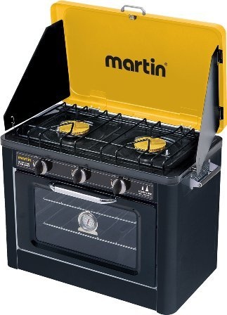 Campro by Martin Portable Propane Camping Stove and - Outdoor Gas Oven