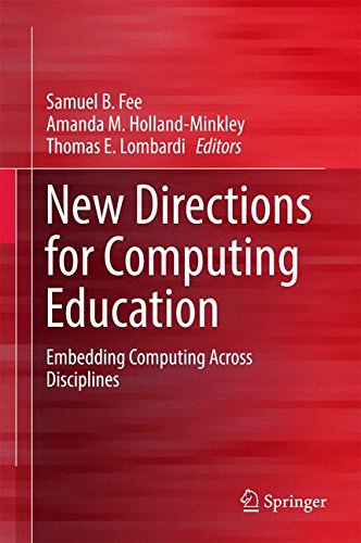 New Directions for Computing Education: Embedding Computing Across Disciplines