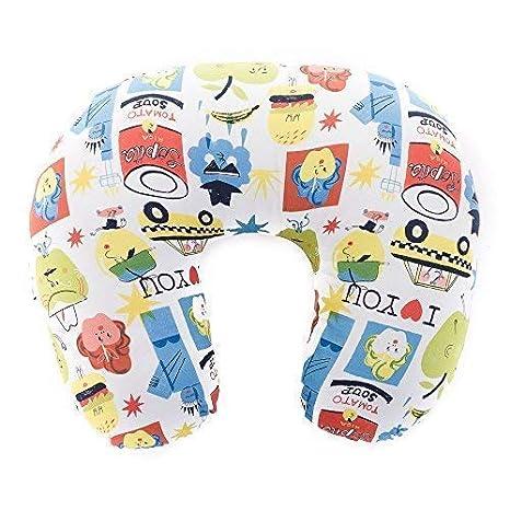 SleepAA Cojin lactancia almohada embarazo algodón confort Tamaño único Varios modelos Fabricado en España (Big Apples): Amazon.es: Bebé