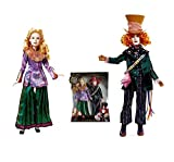 Disney Alice Through the Looking Glass Alice and Mad Hatter Exclusive Doll Set 11.5