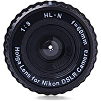 Holga HL-N 60mm f/8 Standard Lens For Nikon Digital SLR DSLR Camera DC518
