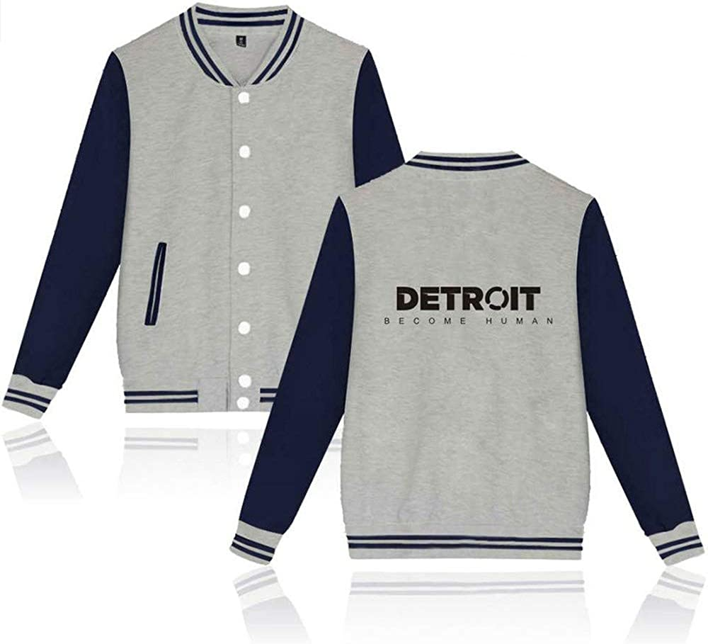 Become Human Fation Casual and Daily wear Detroit Black 1 S biaohe Detroit
