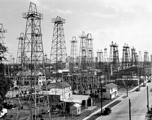 Posterazzi Drilling rigs at an Oil Industry Kilgore Texas USA Poster Print, (18 x 24) from Posterazzi