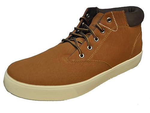 Firefly Hudson - Zapatillas de Material Sintético para hombre Marrón Braun / Dunkelbraun, color Marrón, talla 42 (EU)