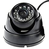 ELP Full HD 1080P USB Webcam with Night Vision Dome Case for Security Surveillance