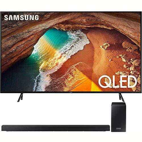 Samsung QN49Q60RA 49″ Q60 QLED Smart 4K UHD TV (2019 Model) with Samsung HWQ60R Soundbar w/Wireless Subwoofer
