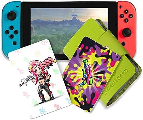 NFC Tag Tarjetas de juego para Splatoon 2 Switch 16 tarjetas con ...