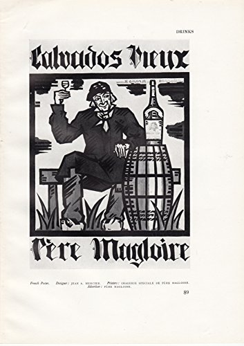 Calvados Vieux Pere Magloire - French Apple Brandy Advertsiement - 1927 ()