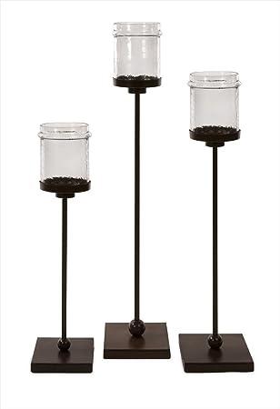 Fabulous Amazon.com: Imax 6998-3 Flamenco Floor Candle Holders, Set of 3  UZ72