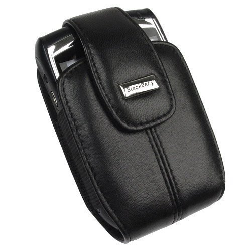 RIM Blackberry 8800, 8830 PDA Black Swivel Holster Case with Belt Clip - HDW-13143-001