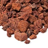 Cheap Real Flame Lava Rock Filler, Red