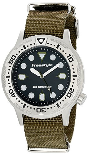 (Freestyle Ballistic Diver Olive Unisex Watch 10019173)