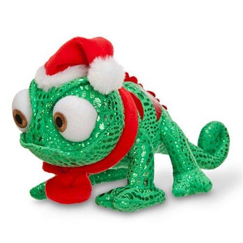 Disney Pascal Mini Bean Bag Plush - Holiday - 8 1/2'' (Metallic Print Lizard)