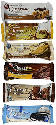 Quest Nutrition Bar Variety Bundle Chocolate Dessert, 12 Piece (Quest Bars Dessert compare prices)