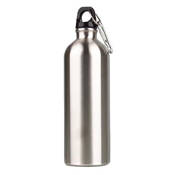 c-pioneer 1000 ml acero inoxidable botella de agua deportiva ...