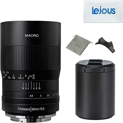 7artisans 60mm F2.8 Macro Manual Focus M4//3 Mount Lens
