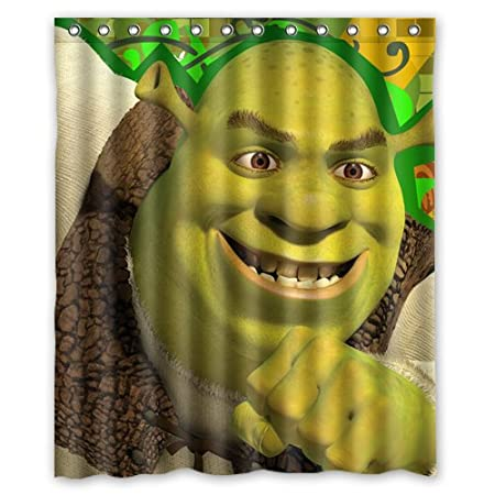 The Forward Shrek Third Custom Shower Curtain 60x72 Inch Brand New Amazoncouk Kitchen Home