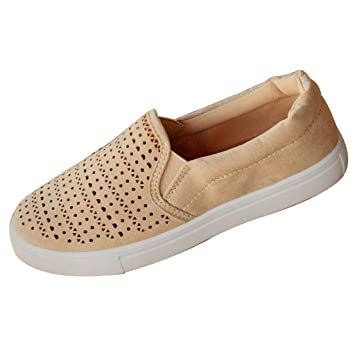 Amazon.com: Answerl☀ Mujer Preforated Slip On ...