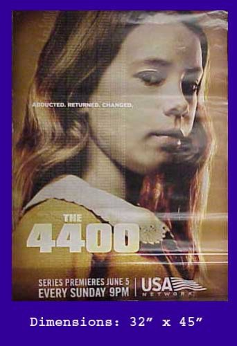 Amazon com: THE 4400 TV SERIES USA NETWORK MAIA RUTLEDGE POSTER 32
