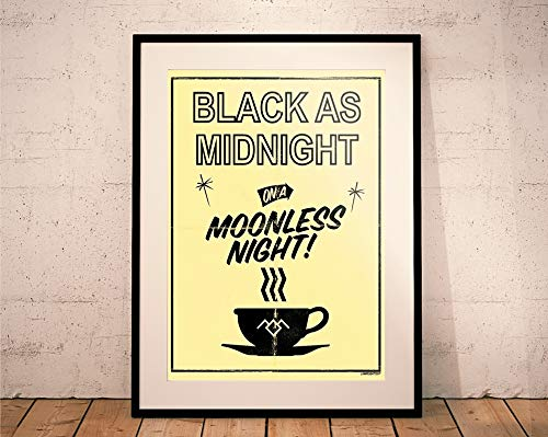 Twin Peaks. Limited Edition Print. 'Black as Midnight on a Moonless Night' (Prints/Posters)