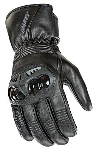 Joe Rocket Sonic Sport Men's Motorcycle Riding Gloves (Black, Large)