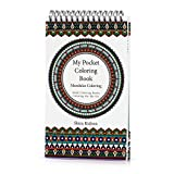 Adult Coloring Books: My Pocket Coloring Book - Coloring-On-The-Go - Mandala Coloring