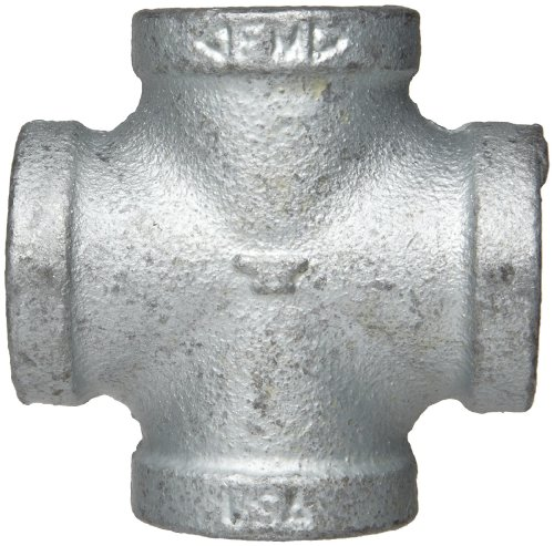 Anvil malleable iron pipe fitting class cross npt