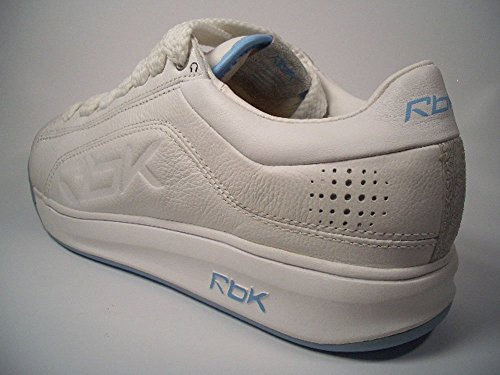 Reebok DJ int 'L 10 – 154930 Blanco de color azul claro tamaño euro 37,5/US 7/UK 4,5/24 cm