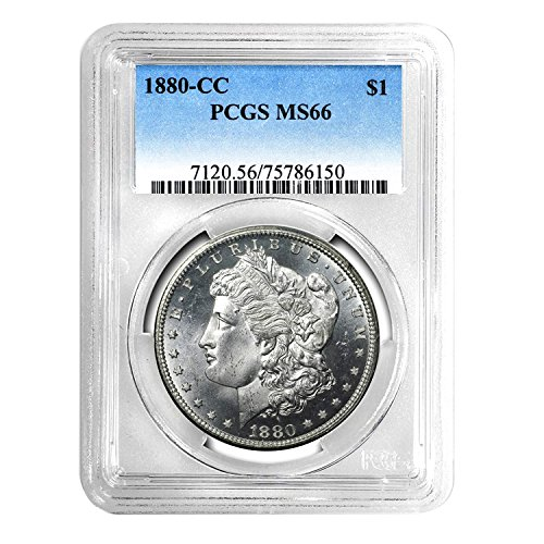 1880 CC Morgan Dollar $1 MS-66 PCGS
