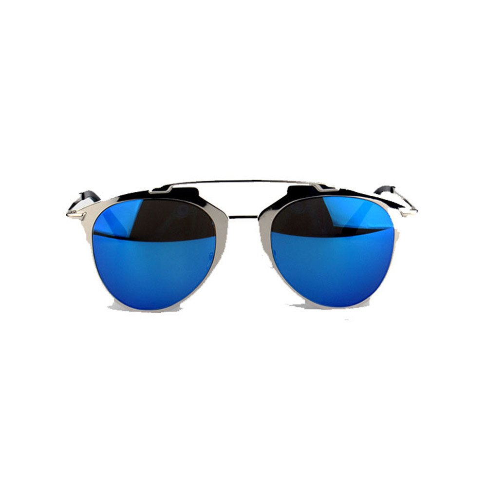 bluee Classic UV Predection Sunglasses Polarized Sunglasses Driver's Glasses Pilot Polarized Sunglasses Frog Mirror Suitable color Film Reflective Sunglasses for Flying Outdoor Sports Traveling.