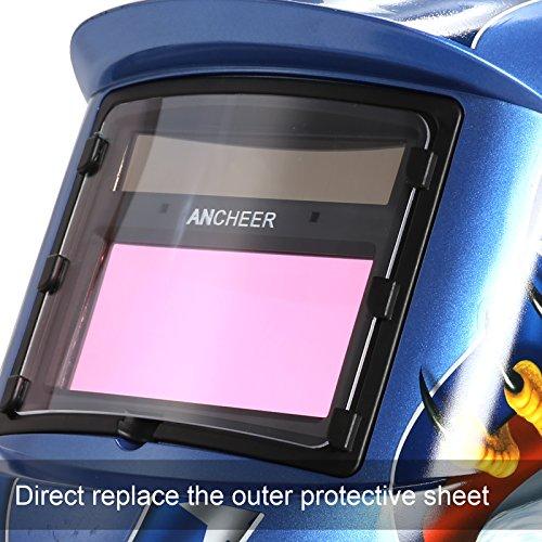 Coocheer Solar Arc Tig Mig Auto-Darkening Welding Helmet/Hood MIG TIG ARC Professional Mask by Coocheer (Image #1)