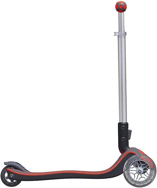 Globber Elite 3 Wheel Folding Adjustable Height Scooter (Red)