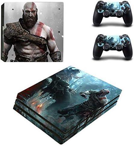 Playstation 4 Pro + 2 Controller Design Adhesivo protector Set – God Of War/PS4 P: Amazon.es: Videojuegos