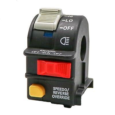 KIPA Handlebar Headlight Hi Lo Beam Light Kill Stop Switch Replace for Polaris Sportsman 400 700 800 ATP 500 Magnum 325 330 500 Xpedition xplorer Trail boss OEM 4010560 4010591 4010422: Automotive