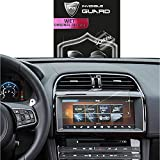 For JAGUAR F PACE XE NAVIGATION 2017-2018 10.2 Inches Touch Screen Sensitive SCREEN Protector Invisible Ultra HD Clear Film Anti Scratch Skin Guard - Smooth / Self-Healing / Bubble -Free By IPG