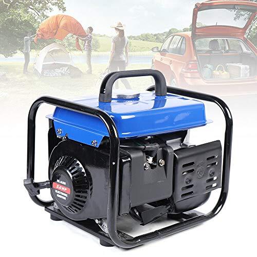 LianDu 63CC Portable Gasoline Powered Generator 650W Manual Start Gasoline Generator RV Camping Inverter Generator Super Quiet