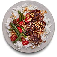 Amazon Meal Kits, Shaking Beef Stir-Fry with Chile & Garlic Green Beans, Serves 2