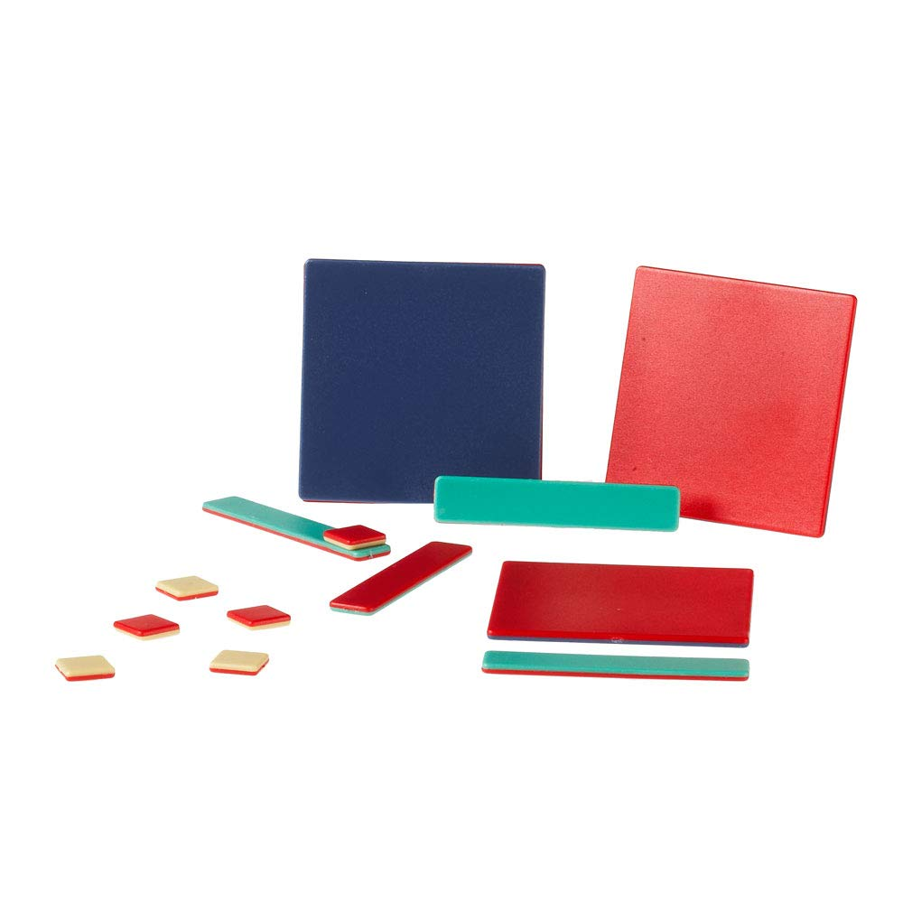 hand2mind Plastic Algebra Tiles Classroom Kit (30 Sets of 32 Pieces) by hand2mind (Image #3)
