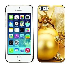 YOYO Slim PC / Aluminium Case Cover Armor Shell Portection //Christmas Holiday Globes 1222 //Apple Iphone 5 / 5S