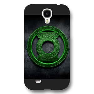 UniqueBox Green Lantern Custom Phone Case for Samsung Galaxy S4, DC comics Green Lantern Customized Samsung Galaxy S4 Case, Only Fit for Samsung Galaxy S4 (Black Frosted Shell)
