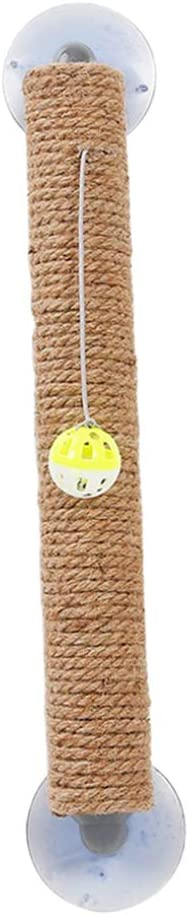 B Blesiya Scratching Post Scratching Toy Cat Toy With Suction Cups