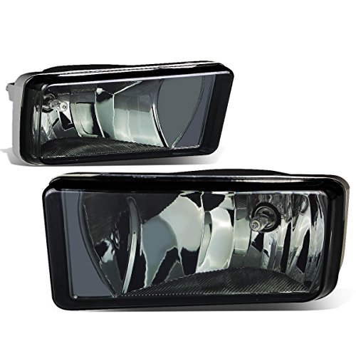 Chevy/GMC GMT900 Truck Pair of Bumper Driving Fog Lights (Smoke Lens)