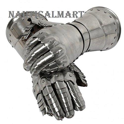 Medieval Knight Italian Style Gauntlet Set By Nauticalmart by NAUTICALMART (Image #1)