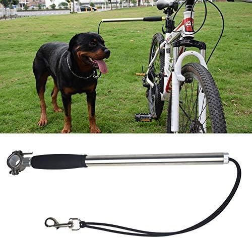 Correa bicicleta perro Acero inoxidable Entrenamiento caminar para ...
