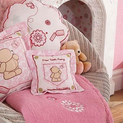 Forever Friends diente hada cojín (color rosa flores ...