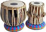 Chopra Student Tabla Drum Set, Colored Bayan, Finest Dayan with, Hammer, Cushions & Box