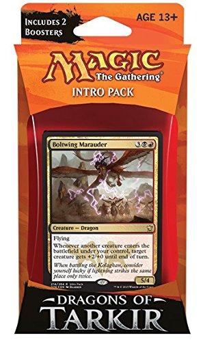 Magic The Gathering Dragons of Tarkir Relentless Rush Intro Deck Wizards of the Coast SG/_B00UA4Z4MK/_US