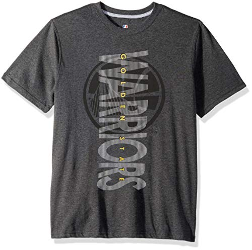2da622ca1ae NBA Golden State Warriors Men s T-Shirt Upright Logo Short Sleeve Tee  Shirt